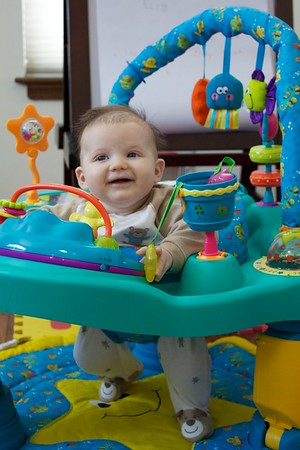 January 13 2011 Exersaucer
