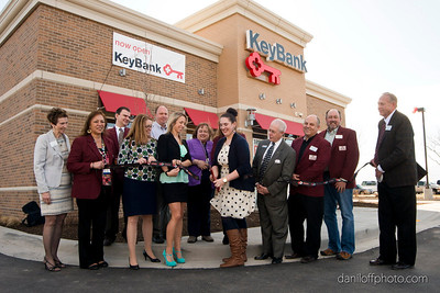 Key Bank - Ribbon Cutting Ceremony - Sandy Area Chamber of Commerce