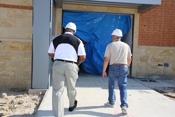 IMPACT ECHS building tour, June 25, 2015.
