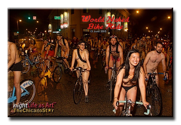 13 June 2015 World Naked Bike Ride Chicago