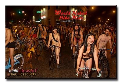 13 June 2015 World Naked Bike Ride Chicago