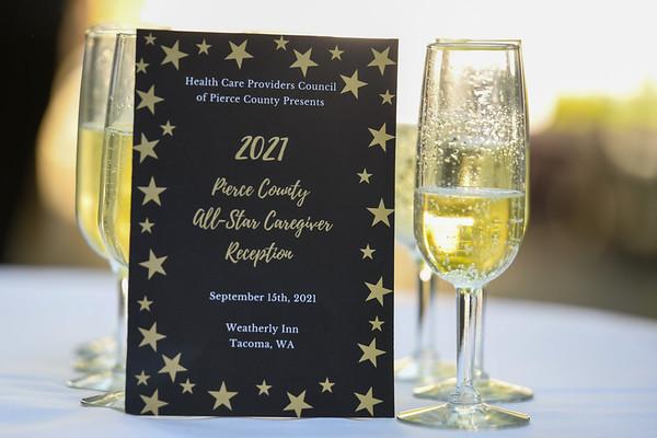 Pierce County All Star Caregiver Reception
