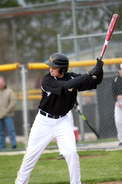 04-17-13 Fostoria St Wendelin vs New Riegel Varsity Baseball