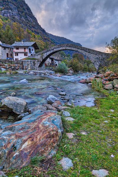 Village of Fondo in Valchiusella