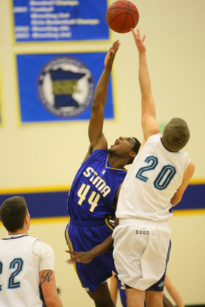 STMA Boys vs Becker 1-13-12
