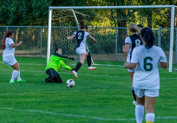 Girls Varsity Soccer v Evergreen 09/04/2018