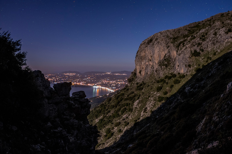 under the stars - ipsos view from mount pantokrator - corfu.jpg