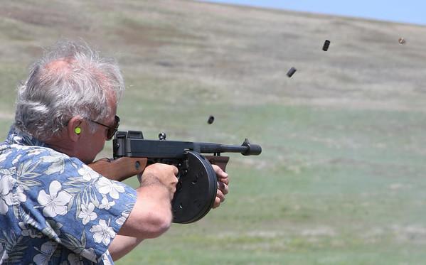 Enterprise Machine Gun shoot