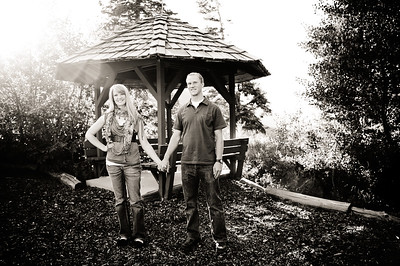 Ashley & Chris October 2011