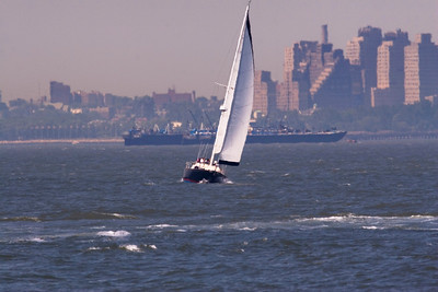 Sail Boats in the NYC Harbour
