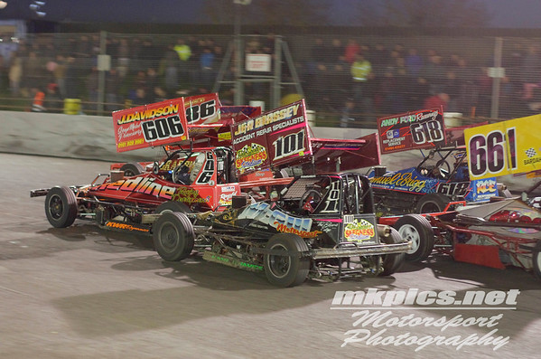 BriSCA F2 Stockcars, Northampton 29 October