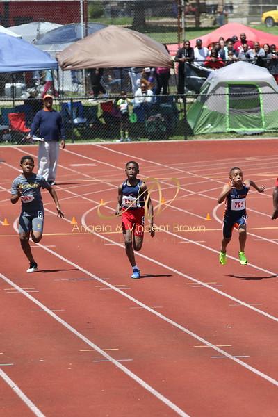 Champs: 11-12 Boys 100M Trials