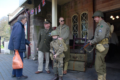 Cheddleton & 1940s Day