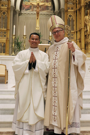 Ordination of Father Hiep Van Nguyen