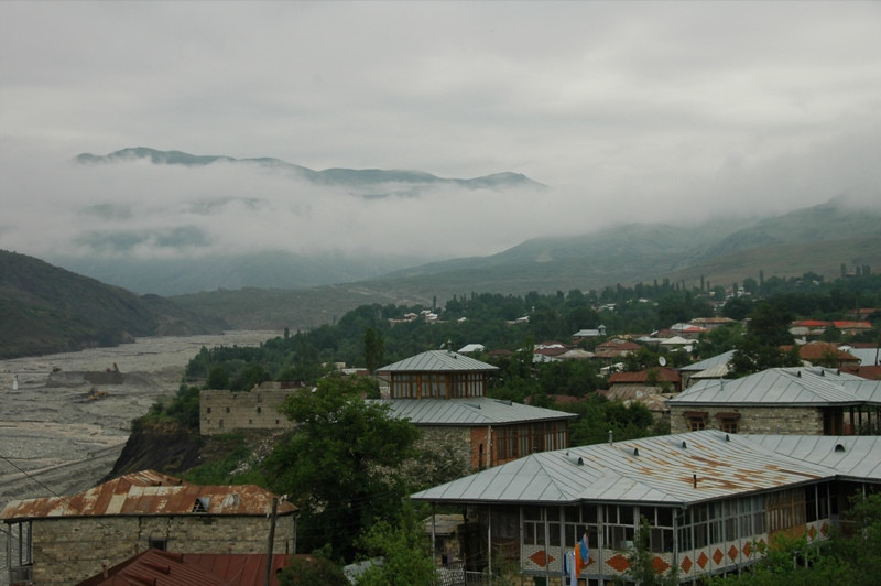 Foggy Mountains - Lahic, Azerbaijan