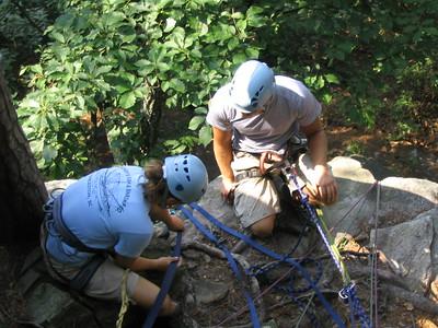 Summer Camp Climbing Trip 2005