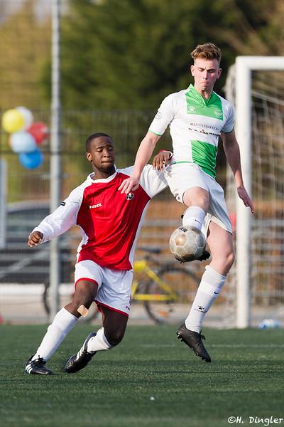 05-03-2016: Voetbal: Spijkenisse B2-Alexandria '66 B2 seizoen 2015/2016