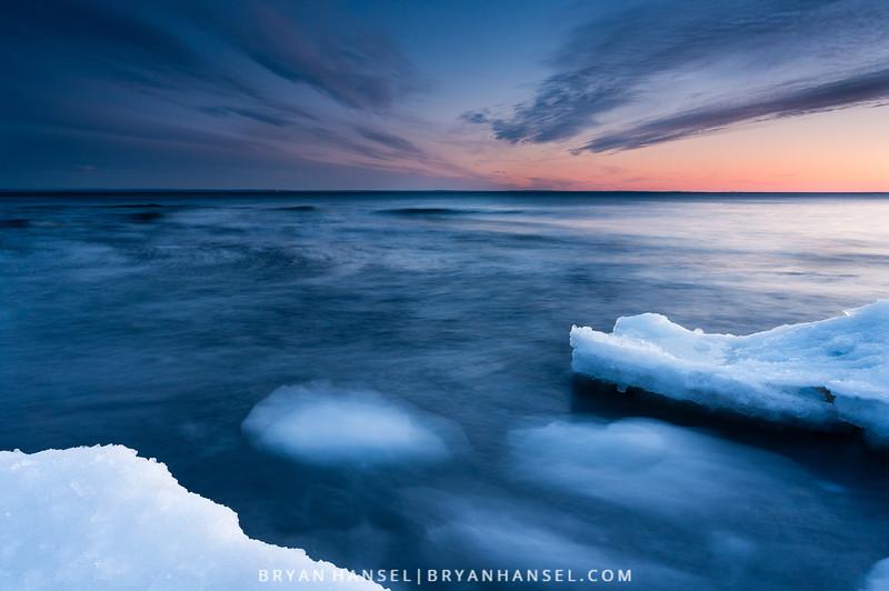 Sunset near Duluth