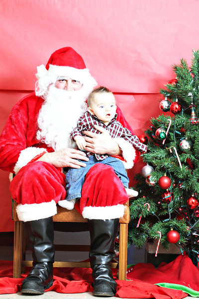 Prana Dance Pictures with Santa