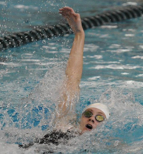 The Farmington Hills Mercy Marlins won the MHSAA D1 swim meet with 277 points with Saline finishing 2nd and Farmington finishing 3rd.  The meet was held on Saturday Nov. 18, 2017 at Oakland University.  (Oakland Press photo by Ken Swart)