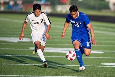 2019.05.20 Boys Soccer: Dominion @ Park View