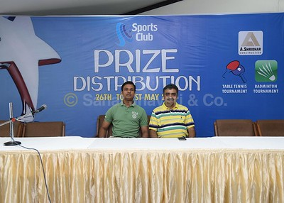 Table-Tennis, Badminton tournament prize distribution_3105-2015