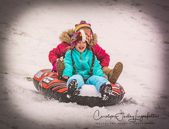 Snow: Fun for some,  a challenge for others!