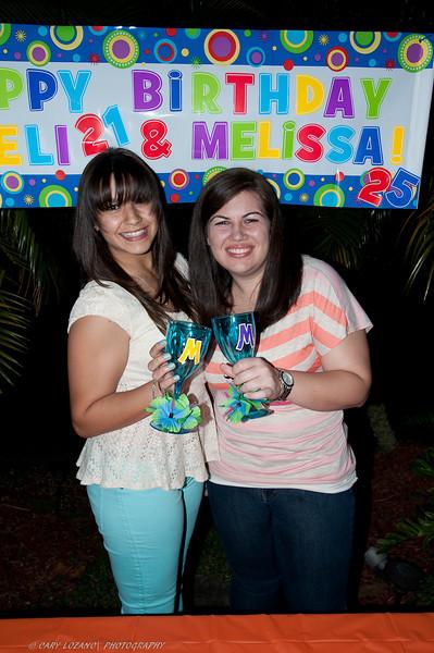 Melisa & Mel Birthday