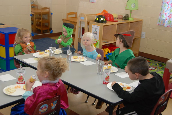 Cash 3yr old class  Halloween Party