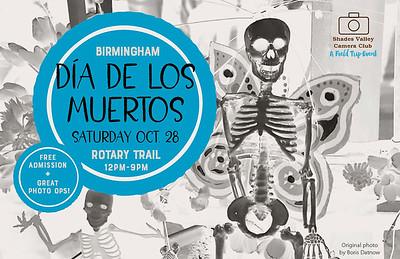 Dia De Los Muertos 10-28-17