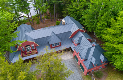 """Red Gambrel""  Exteriors by WeatherCheck"