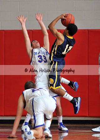 Boys Varsity Basketball - Owosso at Mason - Dec 17