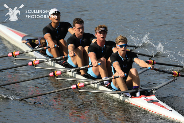 Men's Youth Coxed Quads