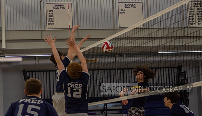 St. John's Prep Volleyball Varsity vs. Andover