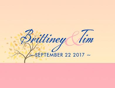 Brittiney & Tim 2017