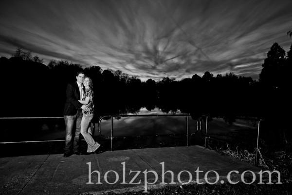 B/W Engagement Photos