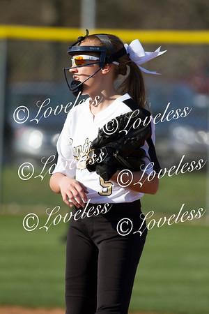 Middle School Softball vs Blackman Middle 3/15/18