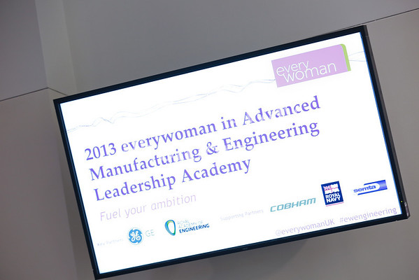 2013 Everywoman in Advanced Manufacturing & Engineering Leadership Academy