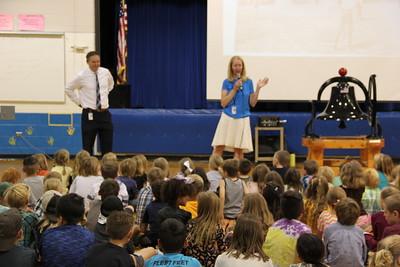 Nederland ES Back to School Superintendent Visit 2018-08-15