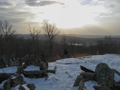 Norvin Green Sunset Hike - 1/2/10