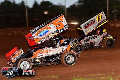 Sharon Speedway - All Star Sprints - 7/11/20 - Paul Arch