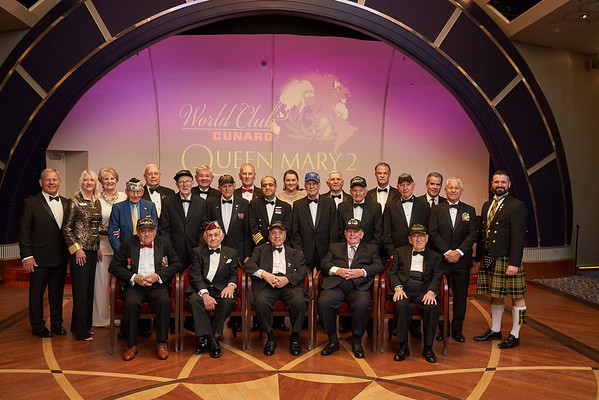 TGGF WWII 75th Anniversary D-DAY Leadership Conference - Queen Mary 2