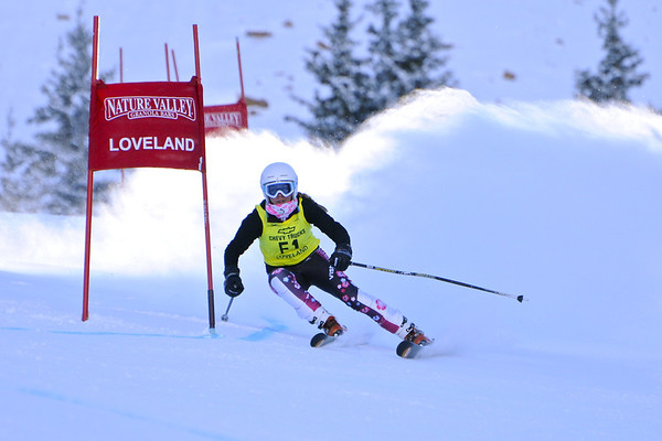 1-8-12 Age Class GS at Loveland - Ladies Run #1