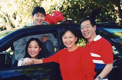 12-25-1999 Christmas Morning & Michelle's Lexus R300