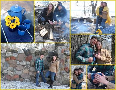 Heather & Kyle's Engagement Portraits @ Picnic Point, Madison, WI 03.04.2017