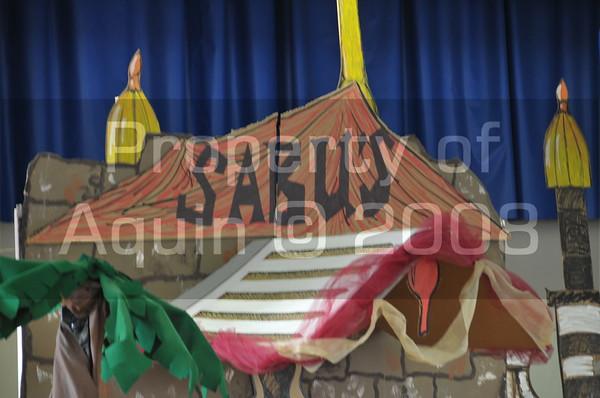 elementary christmas program - cast b 12.13.07