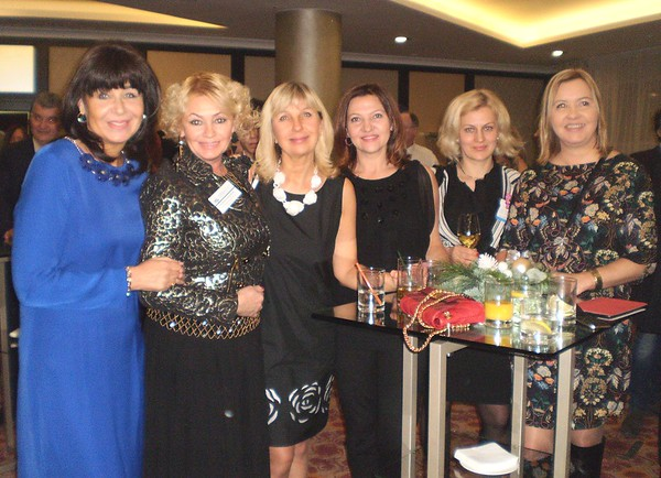CERBA-BBC Christmas Drinks at Marriott Novy Arbat -  Dec 2016