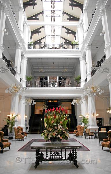 Raffles Hotel Lobby
