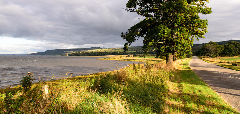 Road beside the Beauly Firth