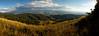 Fall panorama of Beaver Creek, CO